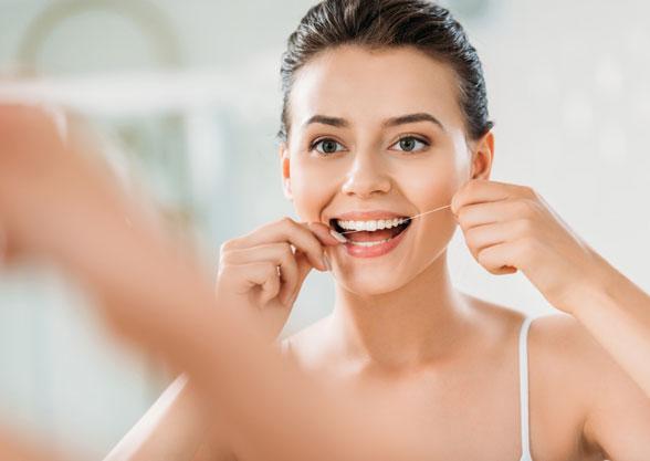 Einsatz-Zahnseide